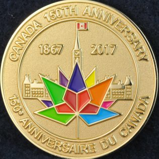 International Police Association Canada 150th anniversary Region 6