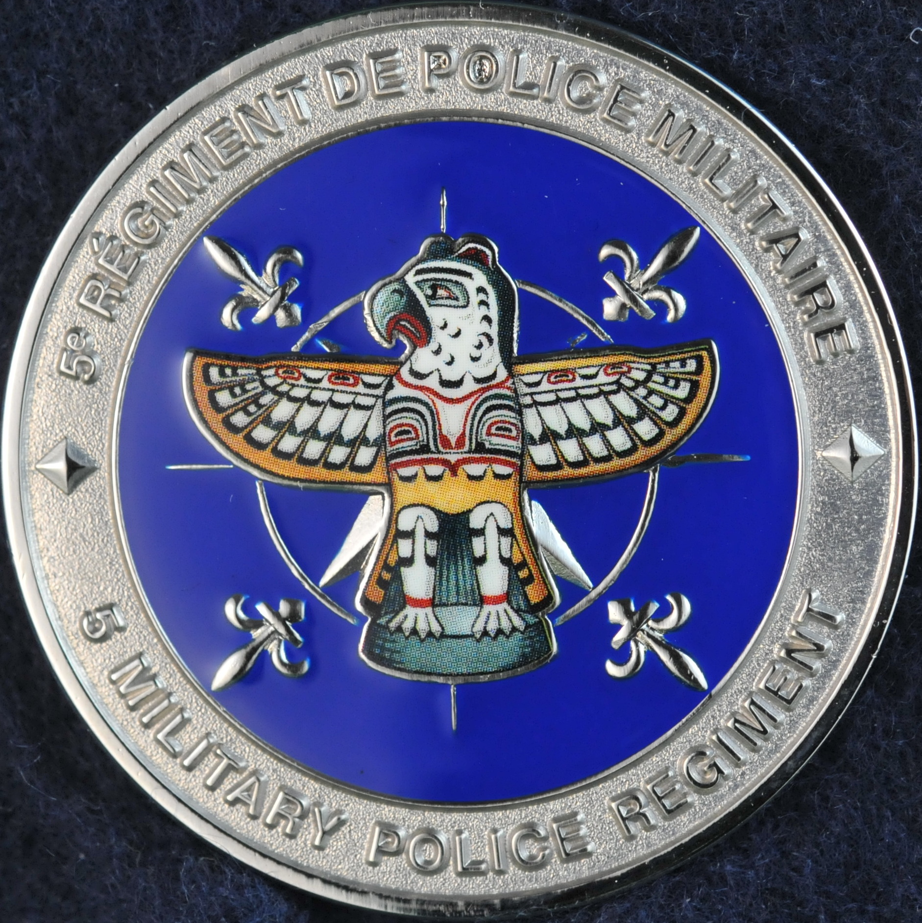 challenge coin display canada