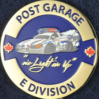 RCMP E Division Post Garage