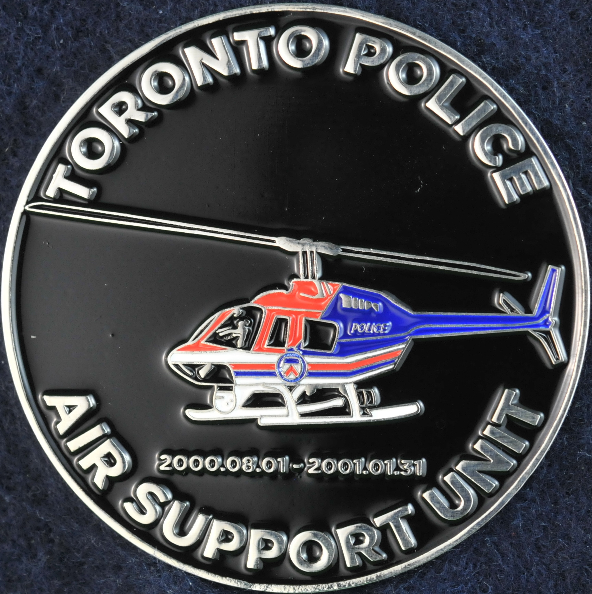 Toronto Police Service Air Support Unit Challengecoins Ca