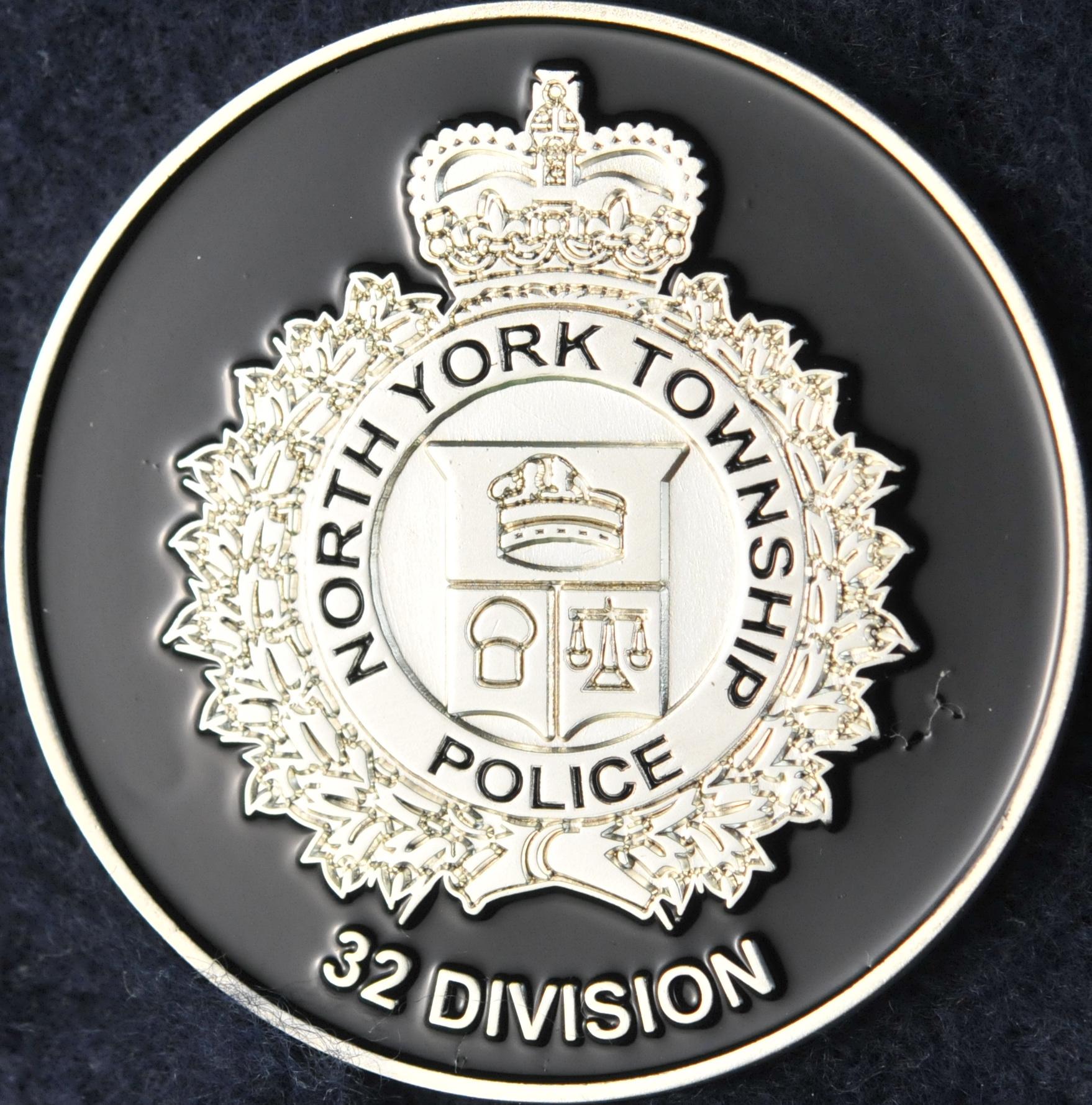 Toronto Police Service North York Township 32 Division Challengecoins Ca