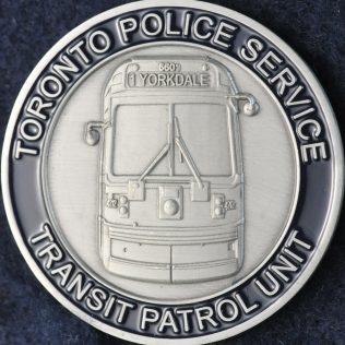 Toronto Police Service Transit Patrol Unit 2009-2016