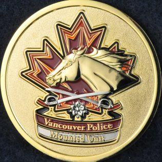 Vancouver Police Department Mounted Unit
