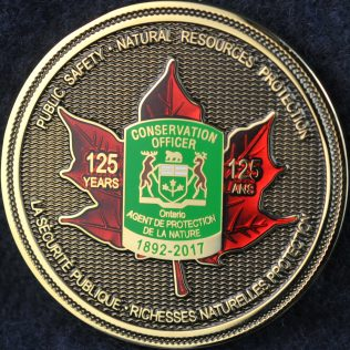 Ontario Conservation Officer 1892-2017