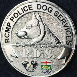 RCMP D Division Police Dog Service