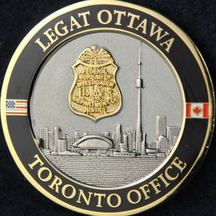 US Federal Bureau of Investigation Legat Ottawa Toronto Office
