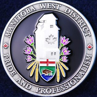 RCMP D Division Manitoba West District