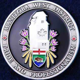 RCMP D Division Manitoba West District