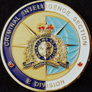 RCMP E Division Criminal Intelligence Section