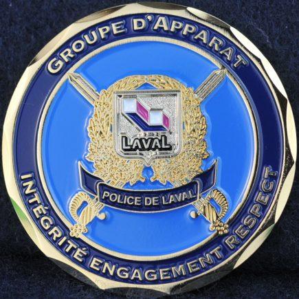 Laval Police Service Honour Guard