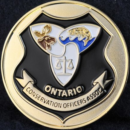 Ontario Conservation Officers Association black