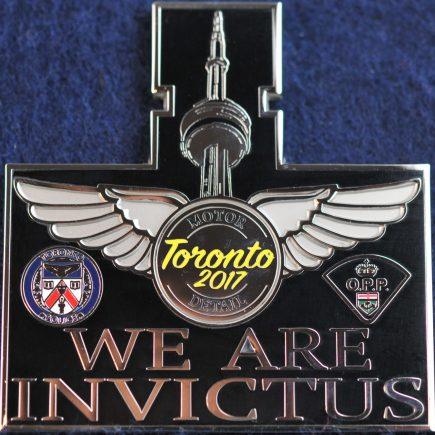 Toronto Police Service Invictus Games Motor Squad black