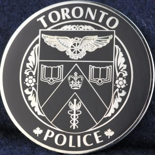 Toronto Police Service Maple Leaf Thin Blue Line black