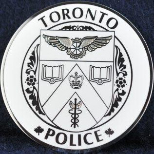 Toronto Police Service Maple Leaf Thin Blue Line white