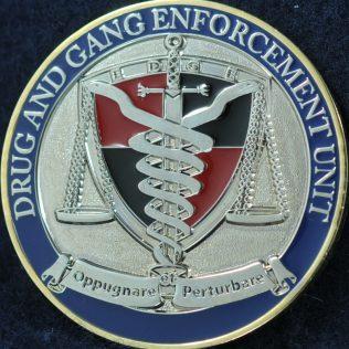 Edmonton Police Service Drug and Gang Enforcement Unit