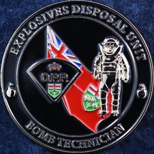 Ontario Provincial Police - Explosives Disposal Unit