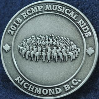 RCMP E Division Richmond BC Musical Ride 2018