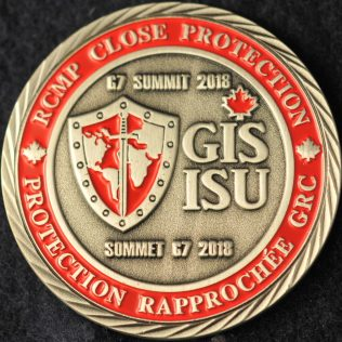 RCMP C Division Close Protection G7 Summit 2018 GIS