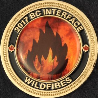 RCMP E Division 2017 BC Interface Wildfires