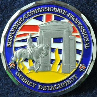 RCMP E Division Surrey Detachment new