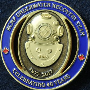 RCMP E Division Underwater Recovery Team 40 years