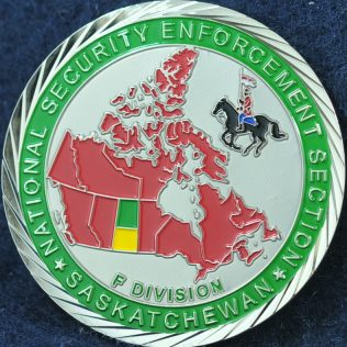 RCMP F Division National Security Enforcement Section