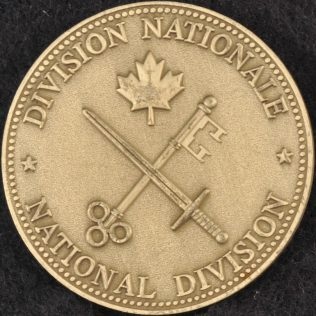 RCMP National Division Pewter