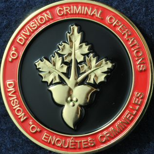 RCMP O Division Criminal Operations