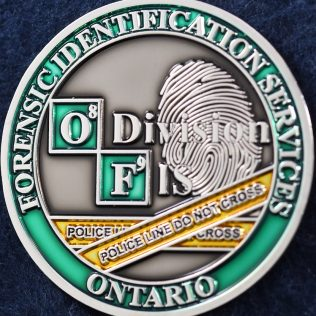 RCMP O Division Forensic Identification Section