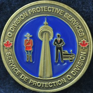 RCMP O Division Protective Services CN Tower