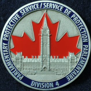 RCMP National Division Parliamentary Protective Service Division 4
