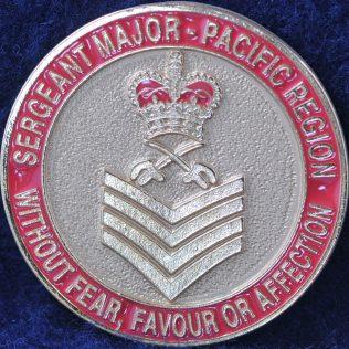 RCMP E Division Sergeant Major Pacific Region