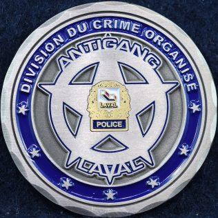Service de police Laval, Antigang - Equinoxe