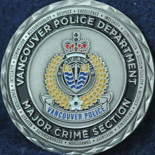 Vancouver Police Department Homicide Unit