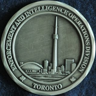 Canada Border Services Agency CBSA - Enforcement and Intelligence Operations Division Toronto