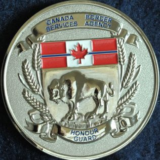 Canada Border Services Agency CBSA - Manitoba Honour Guard