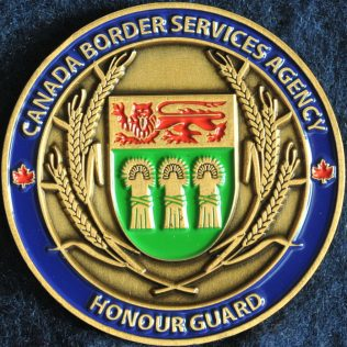 Canada Border Services Agency CBSA - Saskatchewan Honour Guard