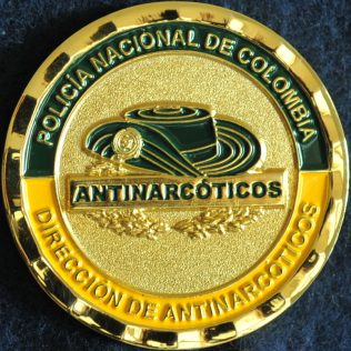 Colombia National Police Anti Narcotics and Inteligence Unit