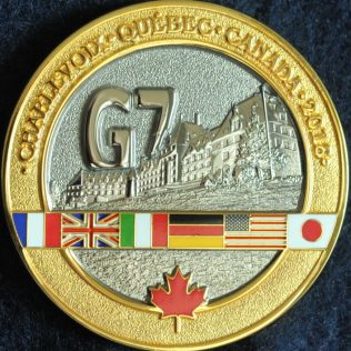 RCMP and SQ Integrated Security Unit G7 2018 Convois