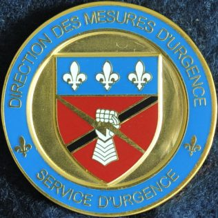 Sûreté du Québec - Direction des Mesures d'urgence