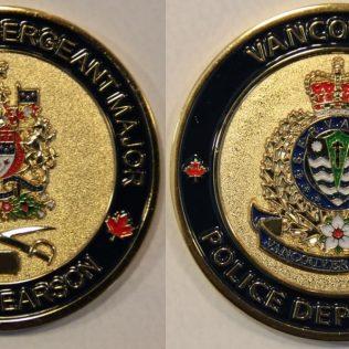 Vancouver PD DSM Pearson