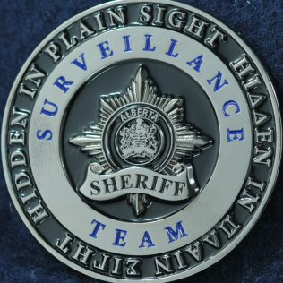 Alberta Law Enforcement Response Team (ALERT) Sheriff Surveillance Team