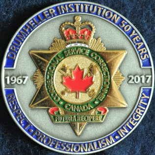 Correctional Service Canada Drumheller Institution 50 years