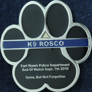 US Fort Myers Police Department K9 Rosco