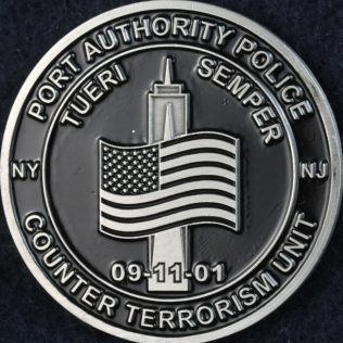 US NYC NJ Port Authority Police Counter Terrorism Unit