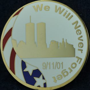 US New York City Federal Community Remembrance of September 11, 2001