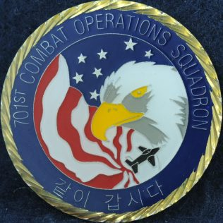 US 701st Combat Operations Squadron