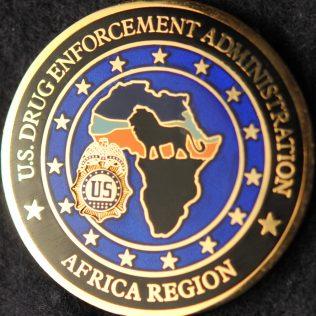 US Drug Enforcement Agency Africa Region