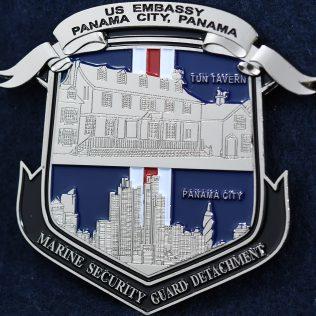 US Embassy Panama Marine Security Guard Detachment