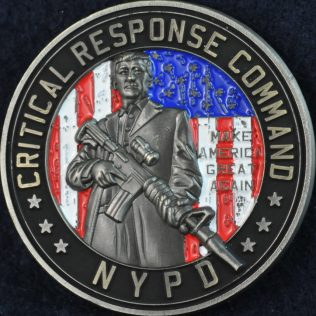 US NYPD Critical Response Command